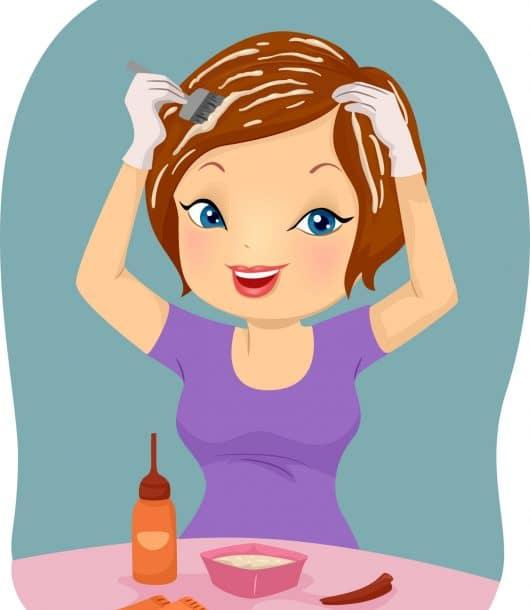Henna hair dye tips