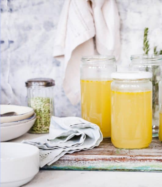 bone broth healthy recipe