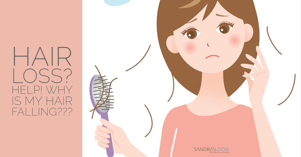 Hair Loss: 55 Causes of Why Your Hair Is Falling - Sandra Bloom