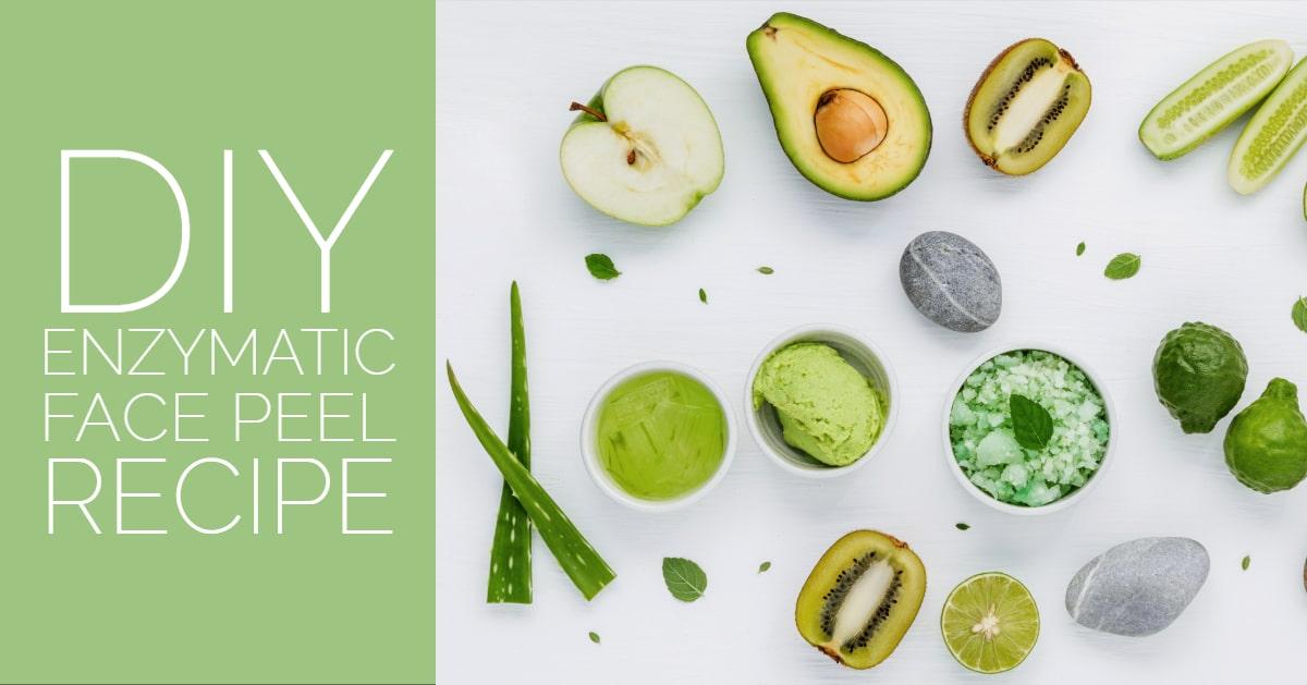 Diy Enzymatic Face Peel Recipe Updated Sandra Bloom