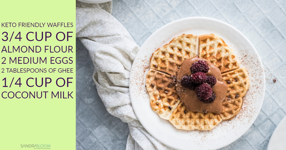 keto friendly waffles