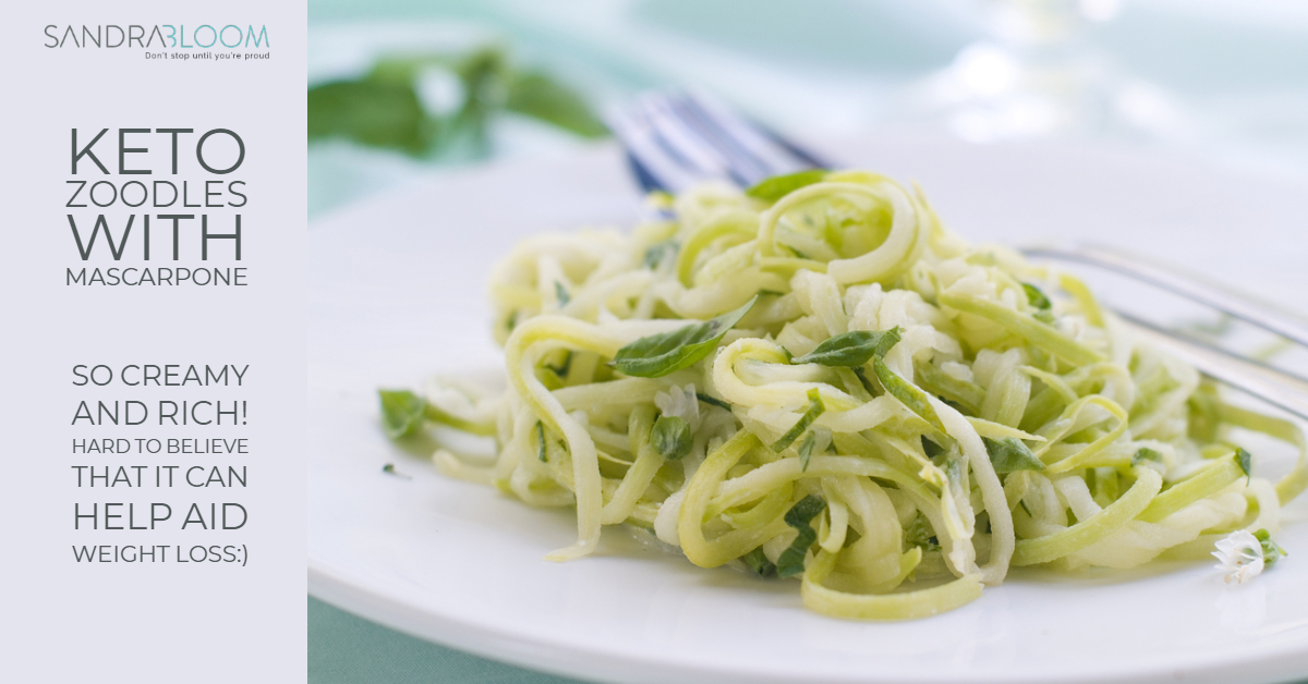 keto zoodles
