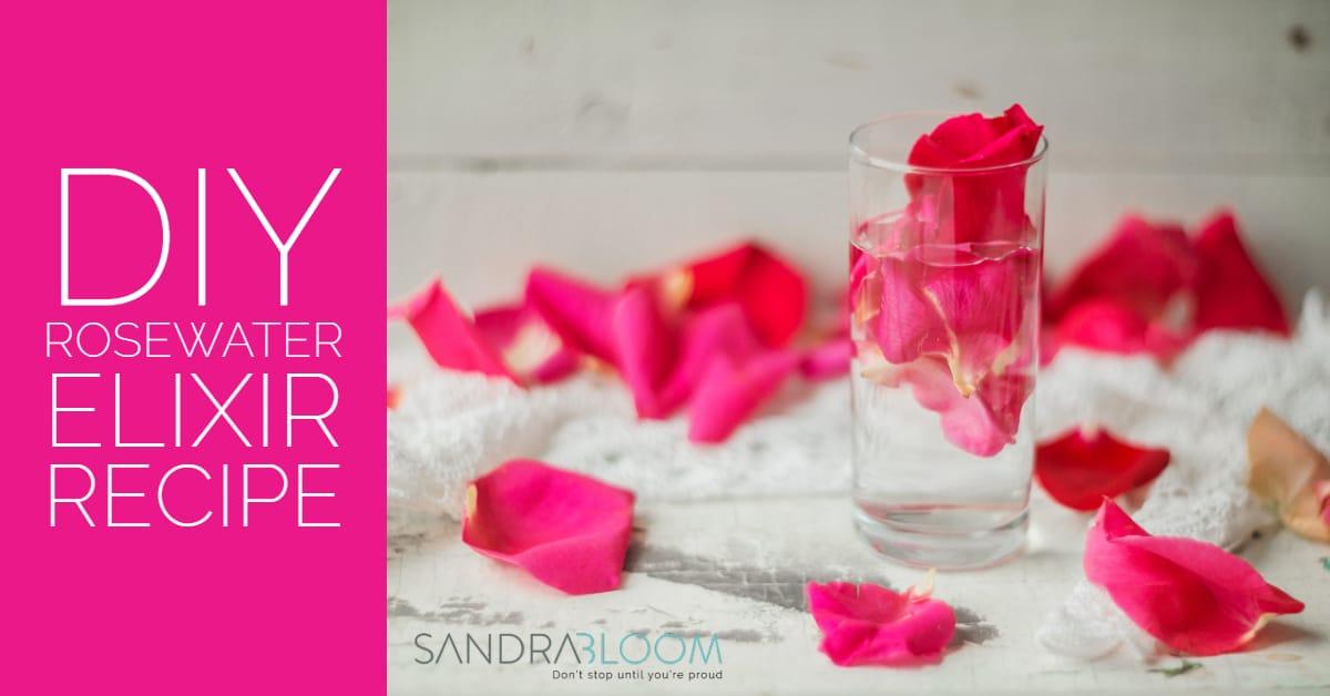 DIY rosewater beauty elixir